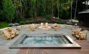 Small Backyard Design Small Backyard Designs With Tub Landscaping Gardening Ideas