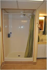 Shower Stall Curtains Shower Stall With Curtain Images Shower Curtains Design