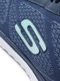 skechers women u0027s sketch air infinity lace up trainers navy aqua