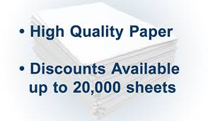 Paper With - blank stock blue checks on top