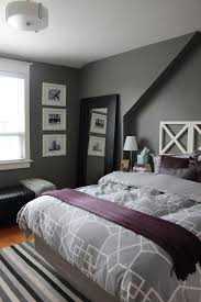 gray and purple bedroom simple home design ideas academiaeb com