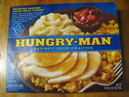 frozen friday hungry roasted carved turkey dinner brand