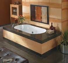Bathtub Jacuzzi Oval Bathtub Acrylic Whirlpool Hydrotherapy Duetta 6042