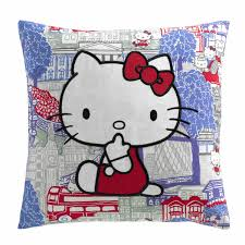 hello kitty hampstead heath duvet cover and pillow case set for