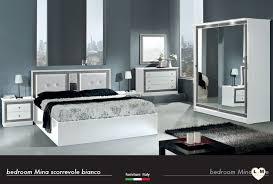 chambre laqué blanc mina laque blanc ensemble chambre a coucher lignemeuble com