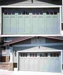 craftsman style garage door ideas making craftsman style garage