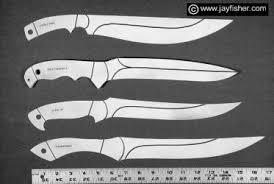 knife patterns custom knife patterns drawings layouts styles profiles