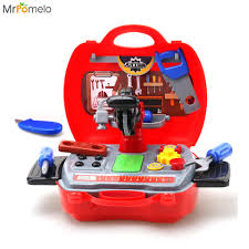 kids funny tool toys pretend play simulation engineer box learning