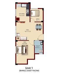 2bhk Plan by Apartments With Private Terrace Garden In Chennai Near Pallavaram
