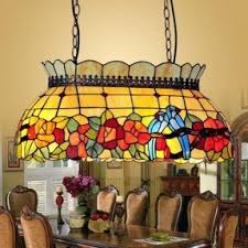 Stained Glass Light Fixtures Stained Glass Hanging Pendant Lamp Foter