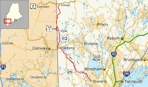 Map Of Maine Usa by Maine State Route 113 Wikipedia