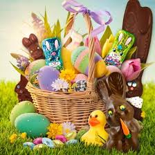 filled easter baskets inspired by it s not easter without a basket of milk