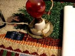 Antique Christmas Lights Antique Christmas Lights Electrified Candles Youtube