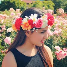 headband flowers hair accessory flower crown flower crown flower crown
