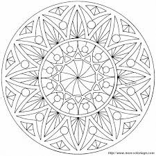 6 best images of free printable sun mandalas coloring pages sun
