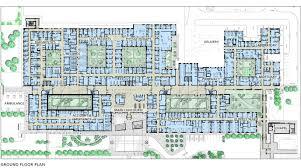 floor plan of hospital hospital design people s choice award entry bakersfield hospital