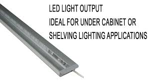 under cabinet plug in lighting led recessed plug in light bar for cabinets shelves youtube