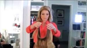 kelly ripa hair kelly ripa halo hair slip youtube