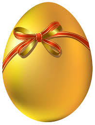 gold easter eggs gold easter egg with bow png clipart gallery yopriceville