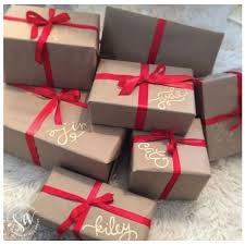 brown gift wrapping paper 15 brown paper wrapping ideas for christmas unoriginal