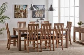 eldorado 9 piece dining with eldorado chairs john cootes furniture