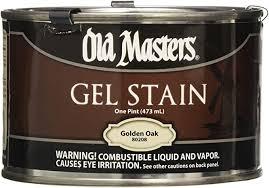 masters gel stain kitchen cabinets masters 80208 gel stain pint golden oak