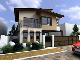 simple modern house design front simple and modern house in triangle