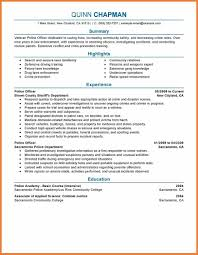 job resumes format sample job resume format sop proposal sample job resume format police officer emergency services