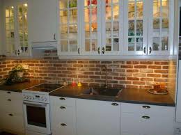 kitchen brick backsplash surprising brick tile backsplash decorative ideas pict of