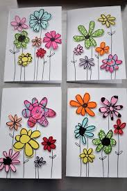 Pinterest Crafts For Kids To Make - paper scrap greeting cards perfect craft for kids to make for