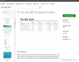 Excel Office Templates Tips To Creating Digital Chore Lists Microsoft Office 365