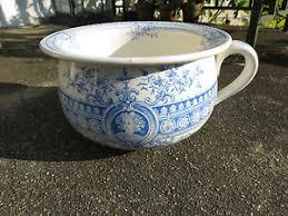 pot de chambre ancien ancien pot de chambre vase de nuit faience sarreguemines digoin