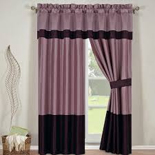 Purple Curtains Wendy Purple Comforter Set 8 Available Matching Curtain Panels