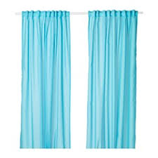 Blue Window Curtains Curtains Blinds Ikea