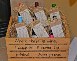 bridal shower wine basket wine wedding gift wedding ideas