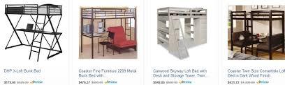 Desk Bunk Bed Combo Loft Bed Teens Phenomenal Gift Ideas