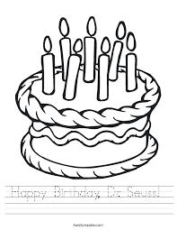happy birthday dr seuss worksheet twisty noodle