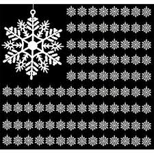 2 25 snowflake photo ornaments pack of 100 home