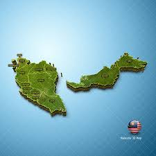 map malaysia vector malaysia map vector 3d pack zestladesign v3