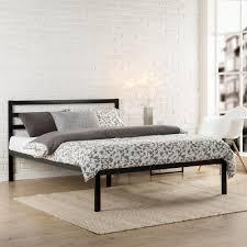 Discount Bed Frames And Headboards Zinus Modern Studio Black Platform Bed Hd Asmph 15q The