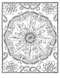 coloring page digital butterfly mandala