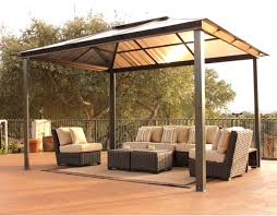 gazebo steel roof pergola gazebo ideas