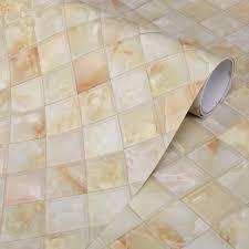 Self Adhesive Kitchen Backsplash by Thick Kitchen Backsplash Decorative Film Self Adhesive Marble Wall