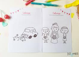 Le livret de coloriages et jeux pour enfant à un mariage  Momesnet