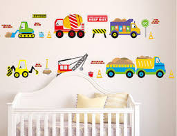 popular tractor stickers for kids buy cheap tractor stickers for 50x70cm digger wall decals construction trucks tractor room decor art stickers colorful for kids rooms brand