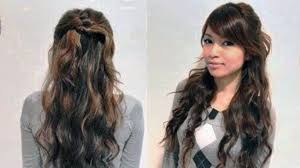 easy quick hairstyles for curly hair u2013 latest hairstyles for you