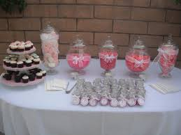 table decorations for baby shower interesting baby shower candy table ideas 18 in baby shower