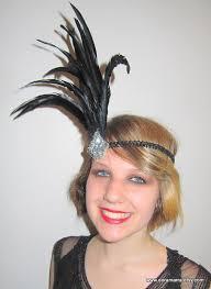 roaring 20 s fashion hair 1920s head wrap gatsby feather headdress 1920s headpiece