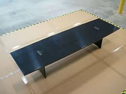 12 ft conference table 12ft conference table with power and data ports ebay