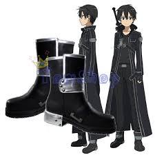 Halloween Costume Boots Aliexpress Buy Sword Art Sao Kirito Kirigaya Kazuto